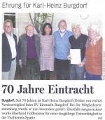 70 Jahre Eintracht